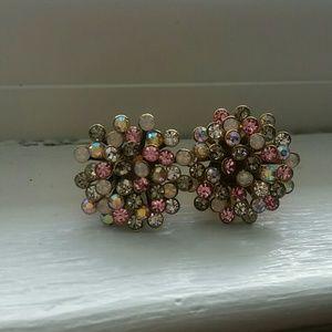 Betsy Johnson Starburst earrings